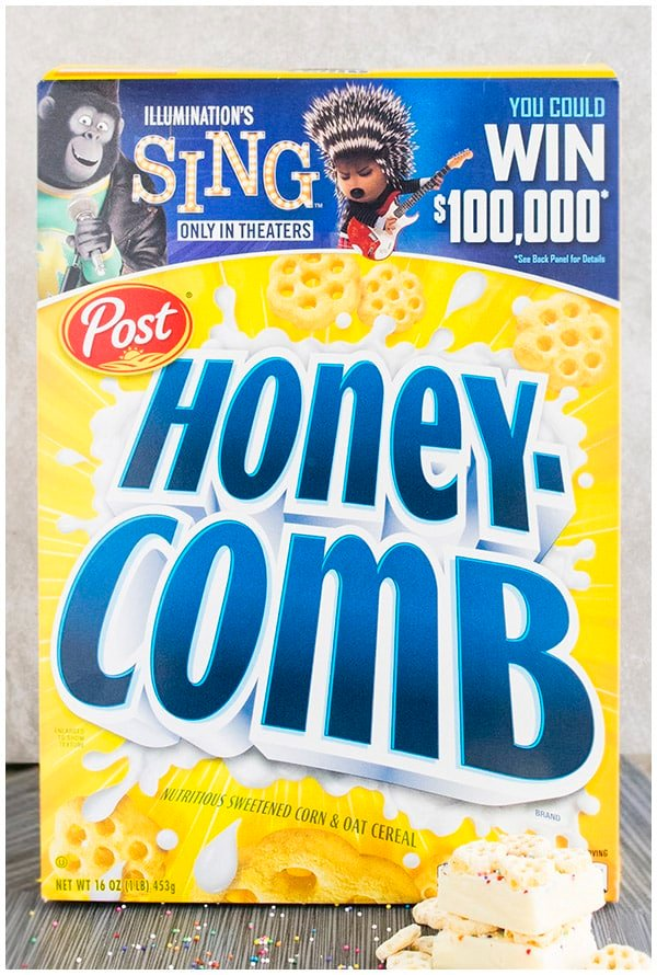 Honeycomb cereal campaign