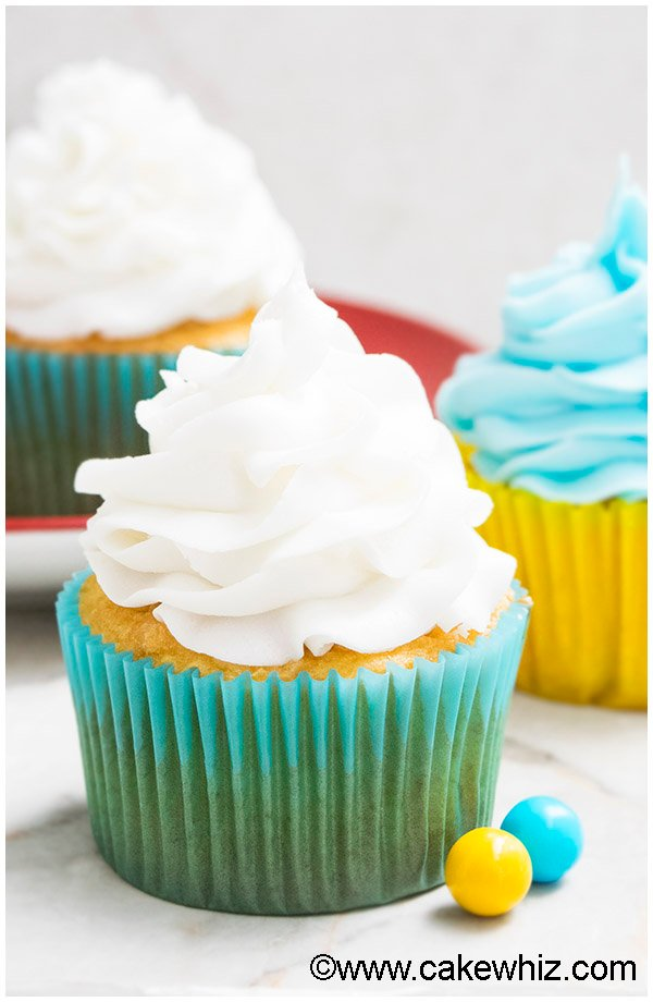 White Chocolate Buttercream Frosting Recipe (Easy with 2 Ingredients) 6