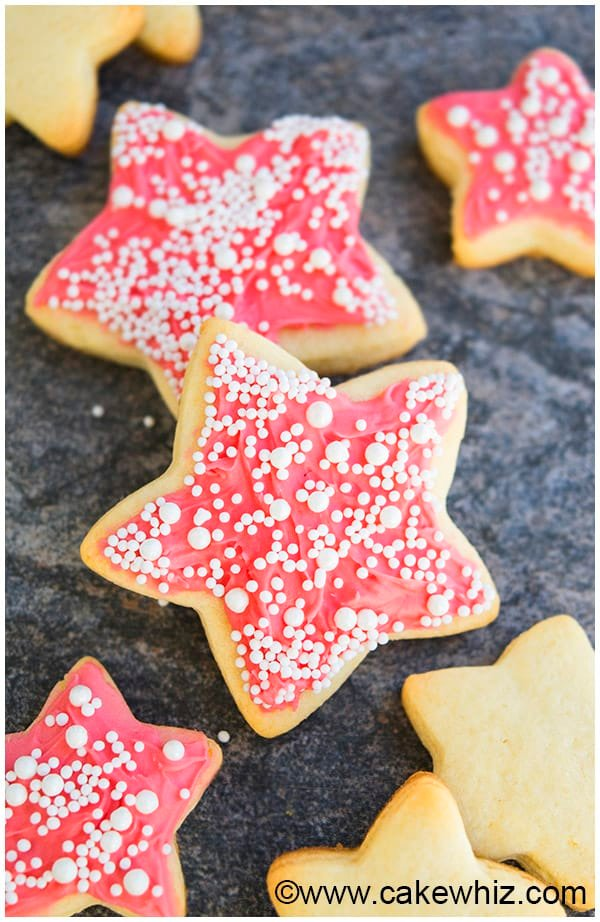 Champagne Cookies Recipe with Champagne Buttercream Frosting 1