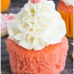 Easy Pink Champagne Cupcakes Recipe With Champagne Buttercream Frosting