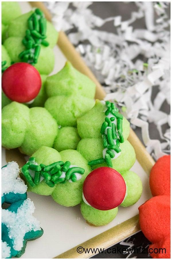 Classic Spritz Cookies Recipe- Mistletoe Cookies