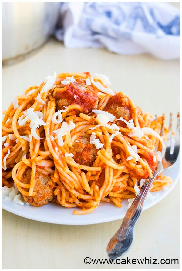 One Pot Spaghetti and Meatballs Recipe 2