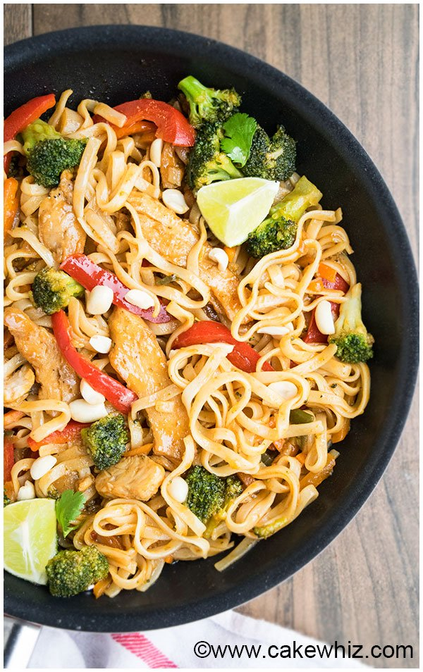 Easy Chicken Pad Thai Recipe 6