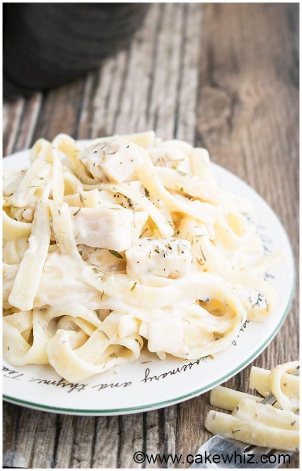 Slow Cooker Easy Chicken Alfredo Recipe 3