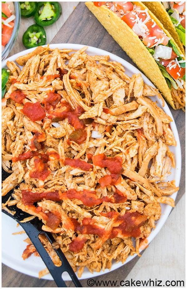 Shredded Chicken Tacos Recipe 4