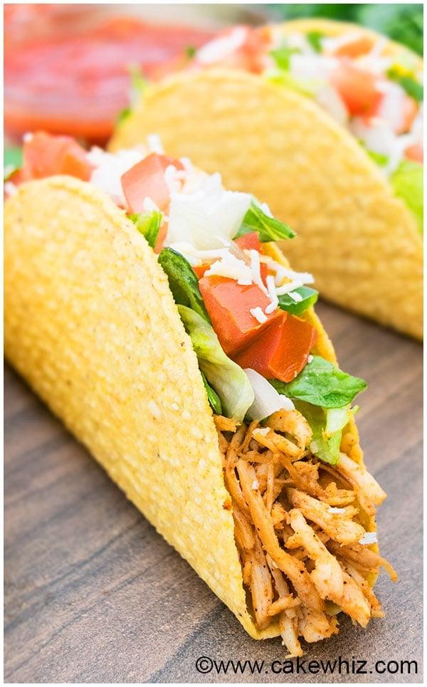 Shredded Chicken Tacos Recipe 7