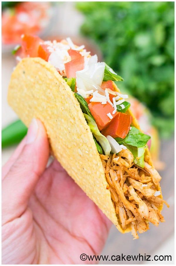 Shredded Chicken Tacos Recipe 9