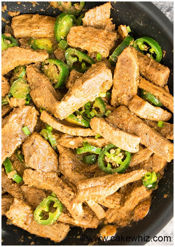 Chinese Jalapeno Beef (Easy Weeknight Meal)