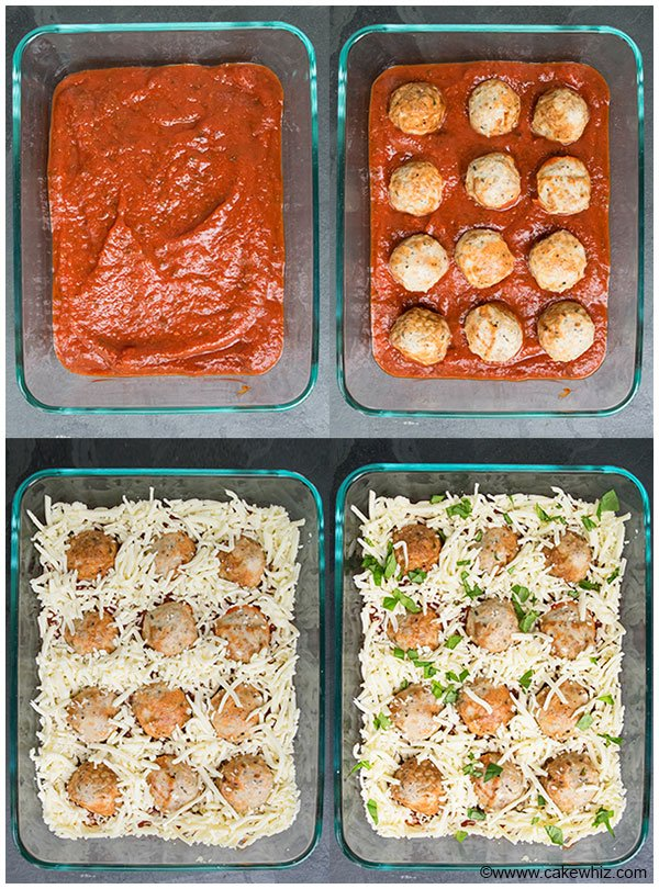 Meatball Parmesan Bake (Quick Weeknight Dinner)
