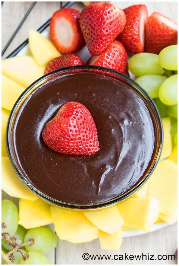 Chocolate Fondue Recipe for Fountain