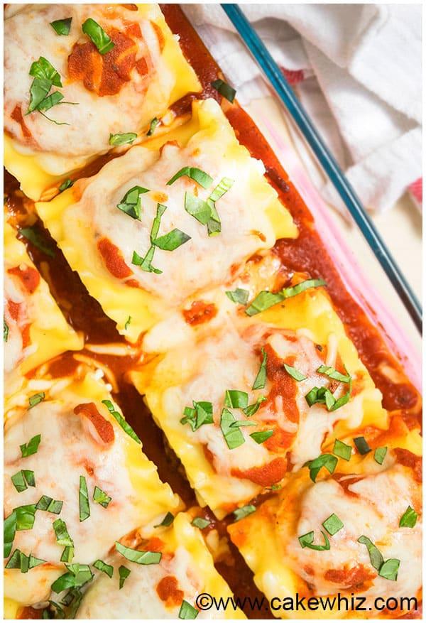Quick Meatball Lasagna Recipe 9