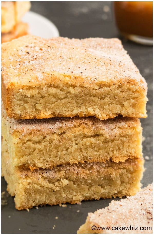 Best Snickerdoodle Bars Recipe