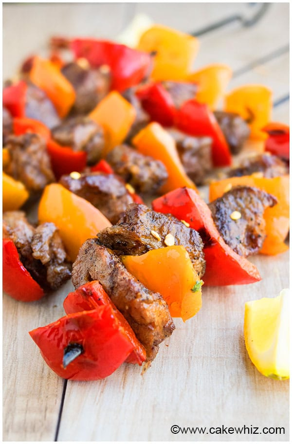 Steak Kabobs For Grilling and BBQ