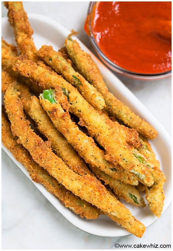 Easy Crispy Fried Green Beans Recipe
