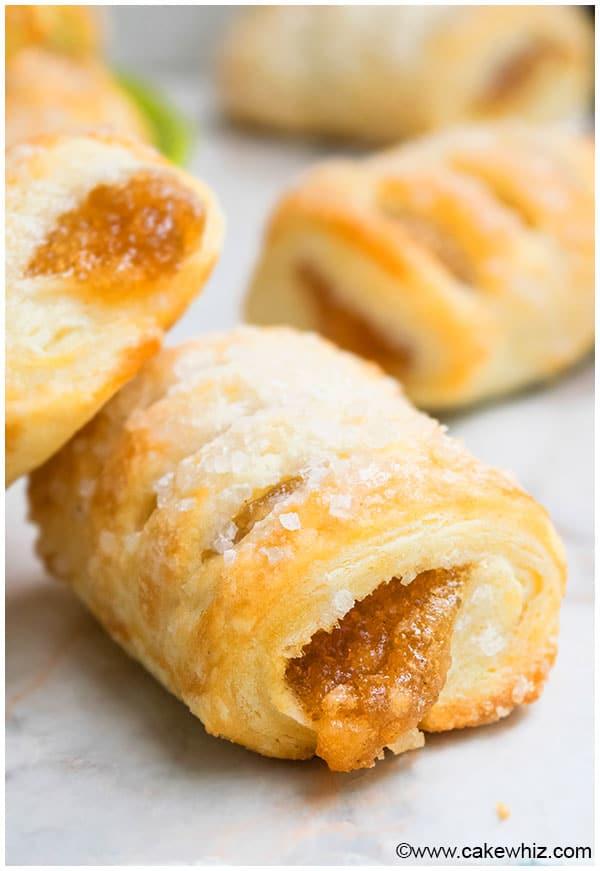 Apple Strudel Puff Pastry