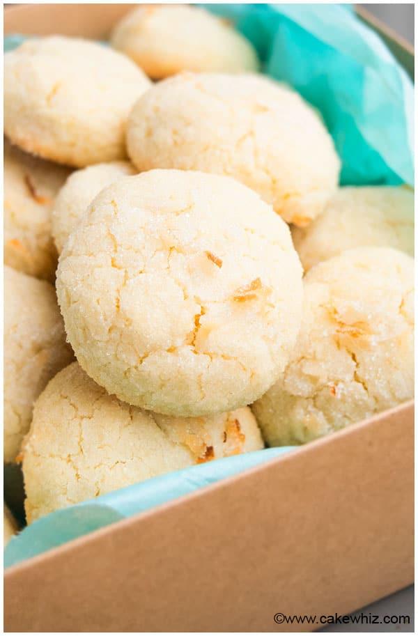 Easy Coconut Cookies Recipe 1