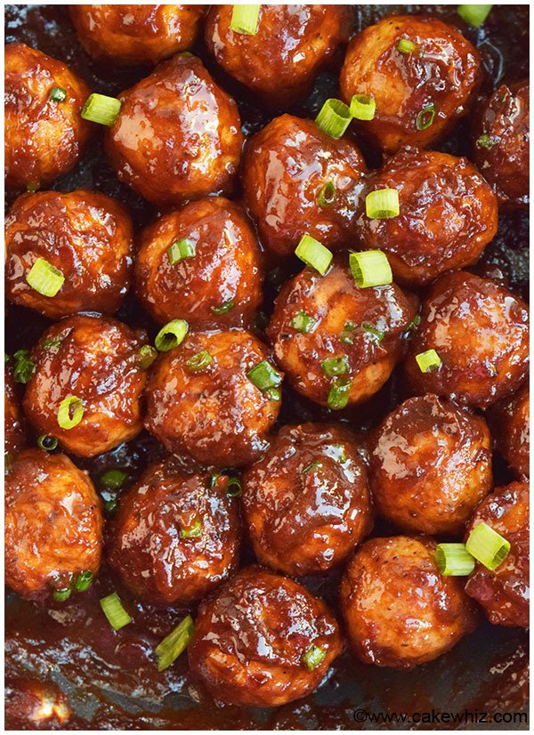 Easy Party Meatballs (Cocktail Meatballs)