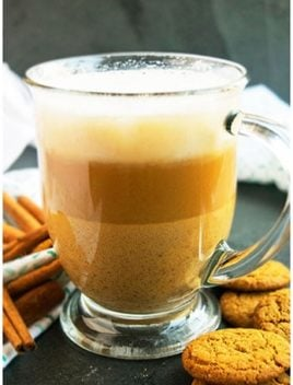 Homemade Gingerbread Latte Recipe- Quick and Easy