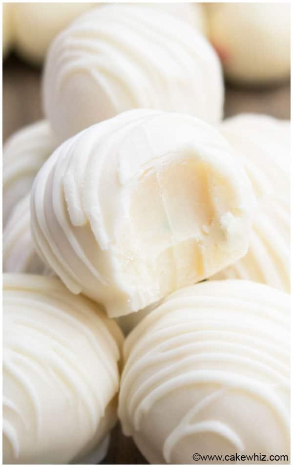 White Chocolate Truffles Recipe Cakewhiz