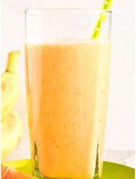 Easy Banana Mango Smoothie Recipe