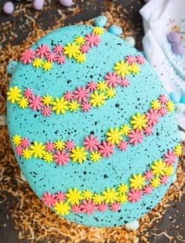 Easter Egg Pinata Cake Tutorial
