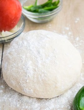 2 Ingredient Pizza Dough (Weight Watchers Pizza)
