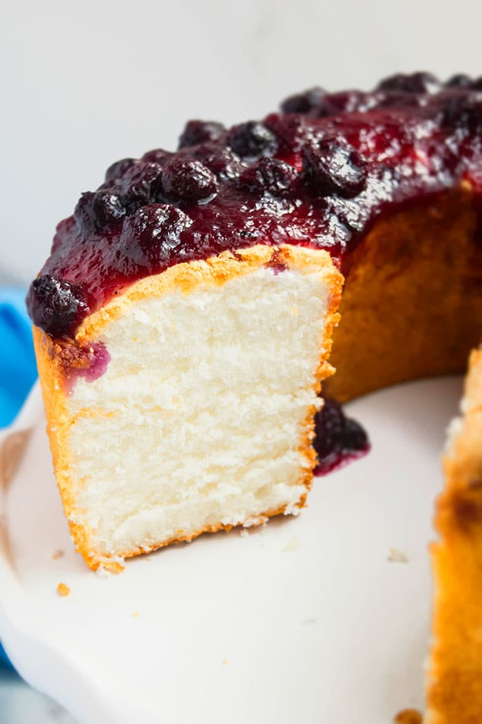 Angel Food Cake (With Gluten Free Option)