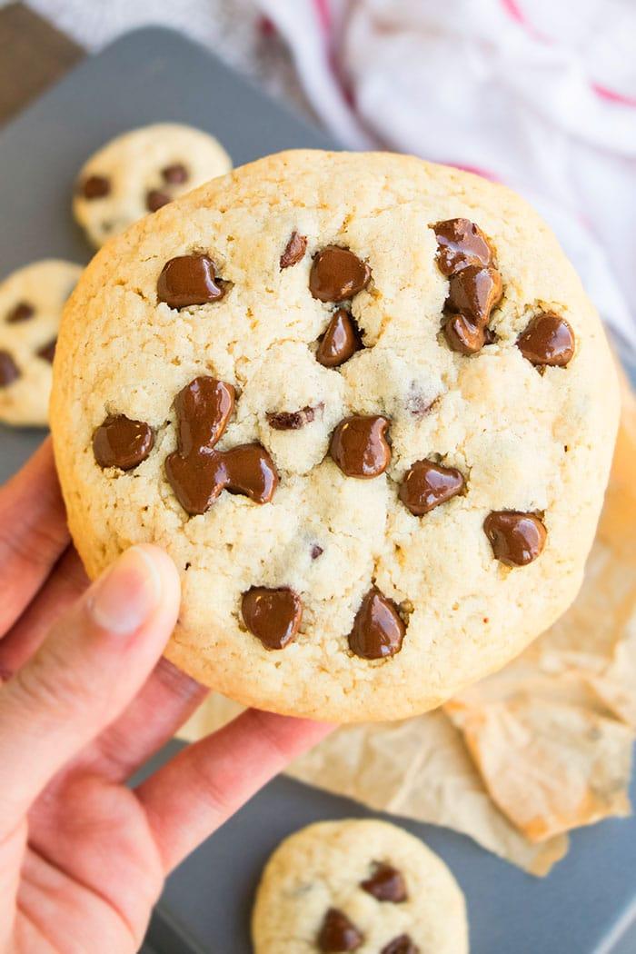 Homemade Chocolate Chip Cookies (Jumbo Giant Size)
