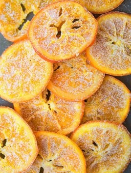 Candied Orange Peel and Slices Recipe