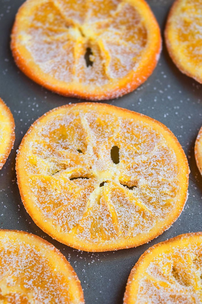 Candied Orange Peel and Slices