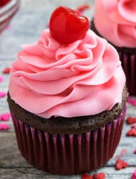 Cherry Frosting Recipe (Cherry Buttercream Frosting)