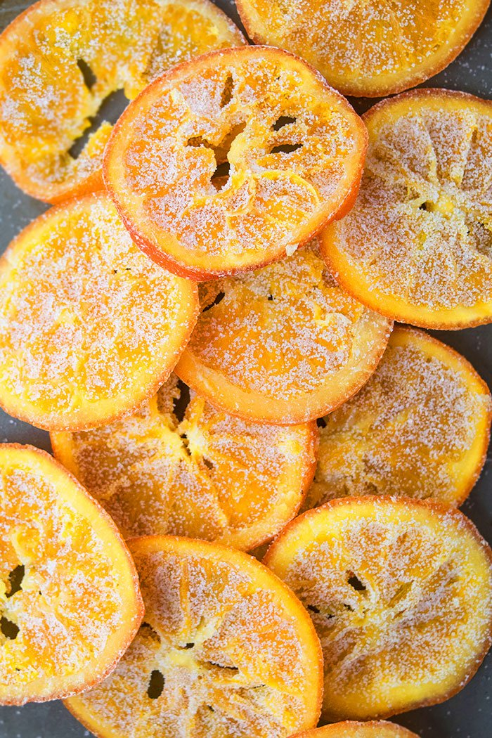 Homemade Orange Candy Slices