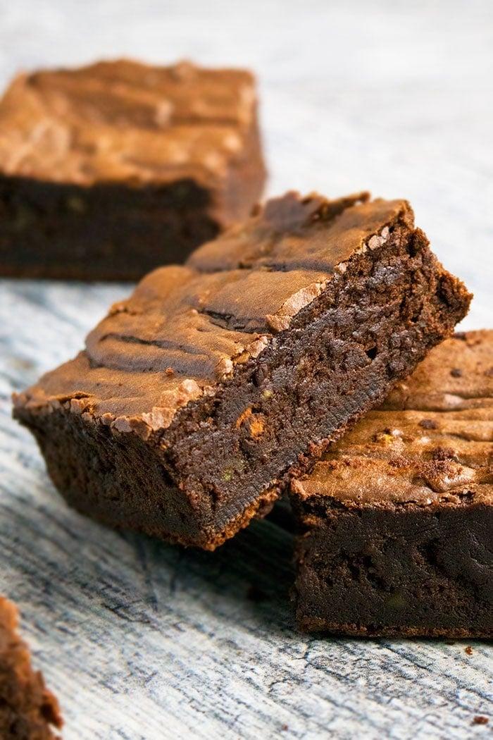 Fudgy Chocolate Avocado Brownies Recipe