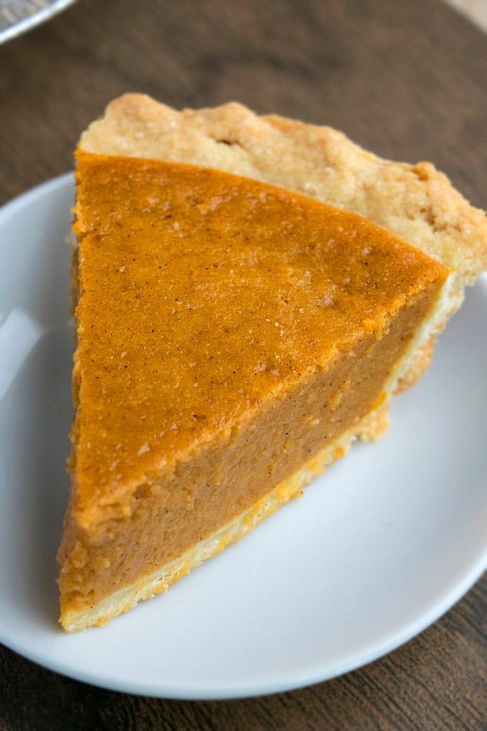 Easy Pumpkin Pie Recipe From Scratch