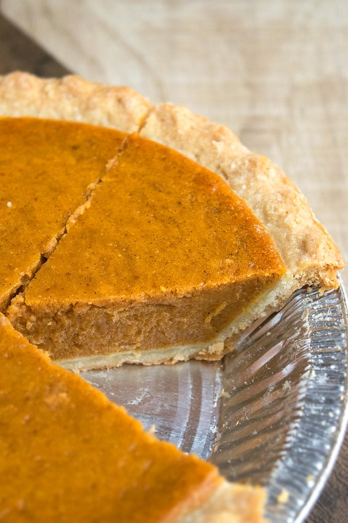 Classic Homemade Pumpkin Pie Recipe