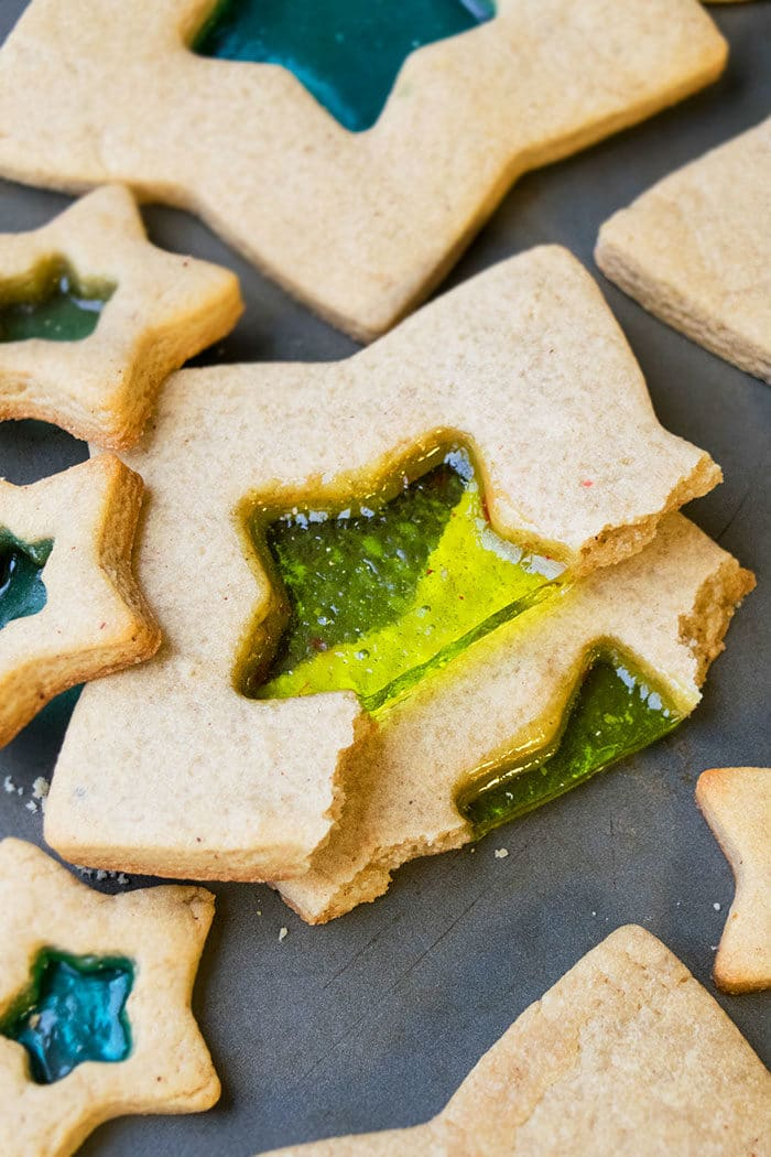 Easy Stained Glass Sugar Cookies Recipe