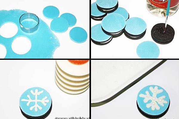How to Make Snowflake Sugar Cookies- Step by Step Instructions