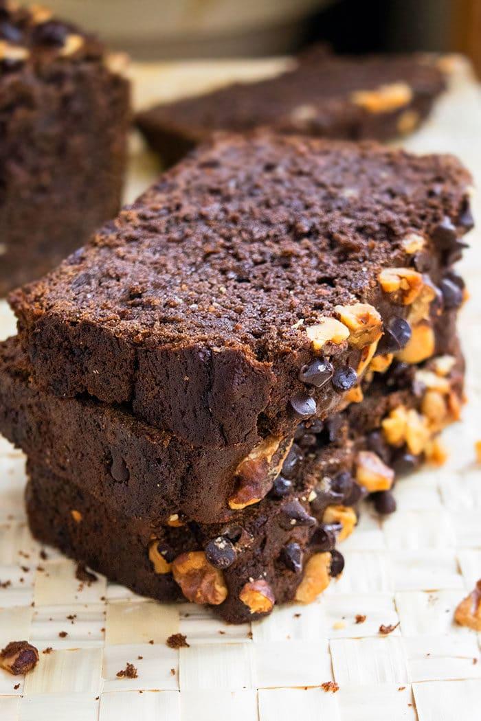 Moist Chocolate Chip Banana Bread Recipe