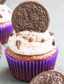 Easy Oreo Cupcakes Recipe With Cake Mix