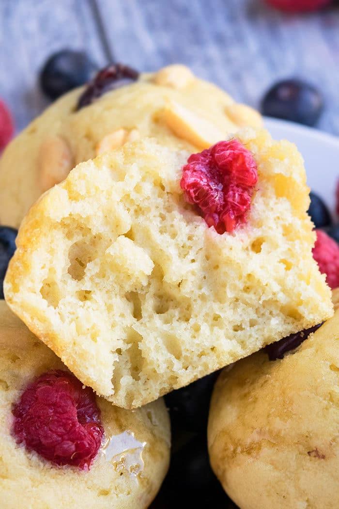 Soft and Moist Pancake Muffins Recipe