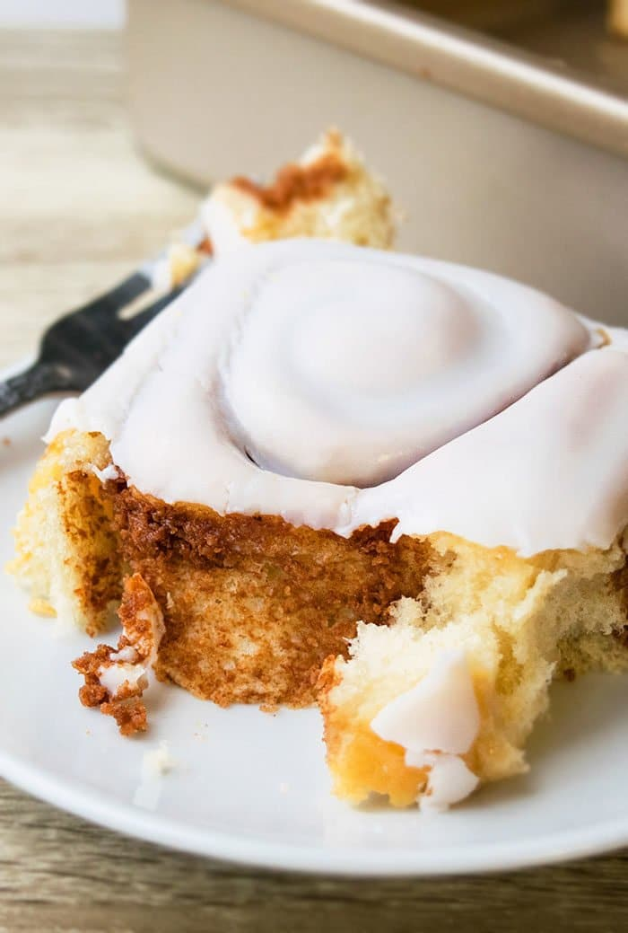 Best Cinnamon Rolls with Cinnamon Roll Icing