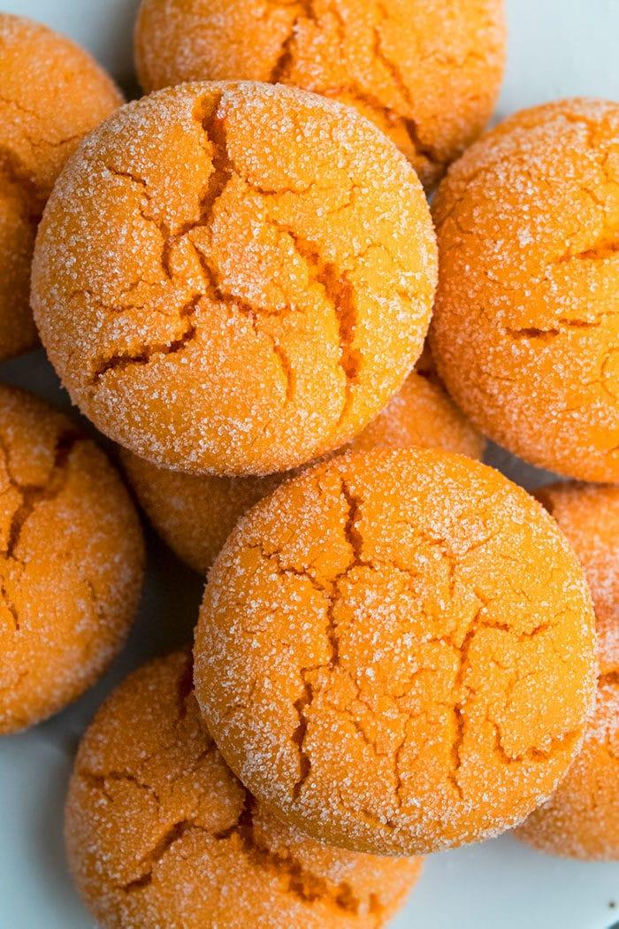 Easy Orange Cookies With Cake Mix