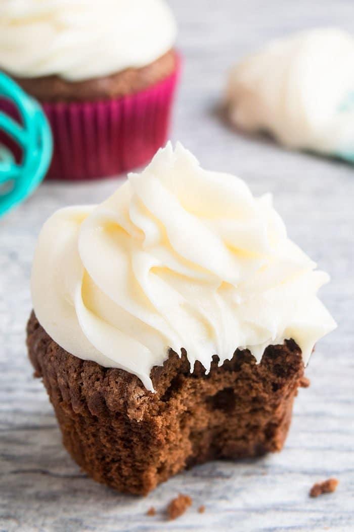 Easy Homemade Sugar Free Vanilla Buttercream Frosting Recipe