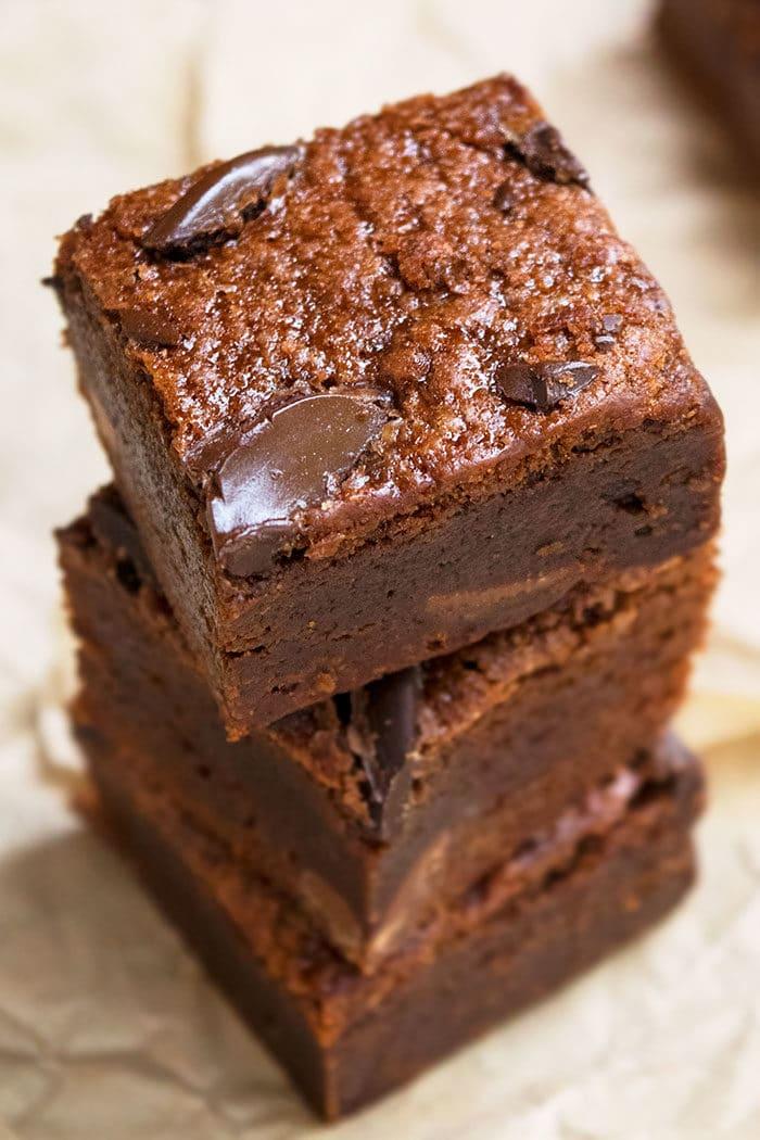 Fudgy Black Bean Brownies Recipe