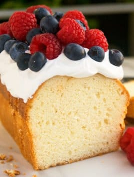 Easy Cream Cheese Pound Cake Recipe