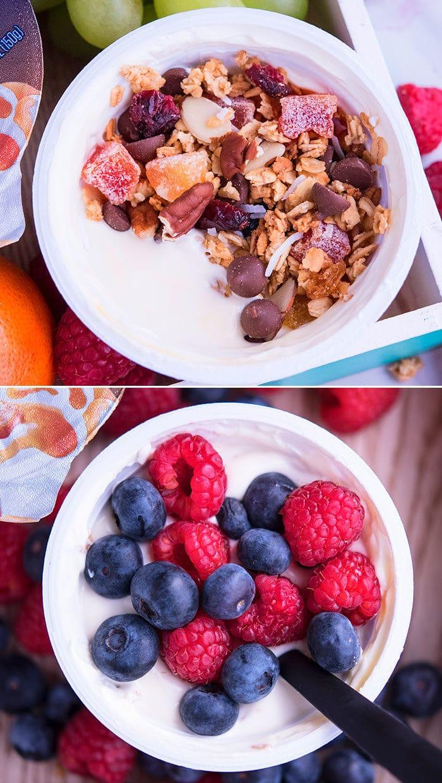Easy Yogurt Toppings