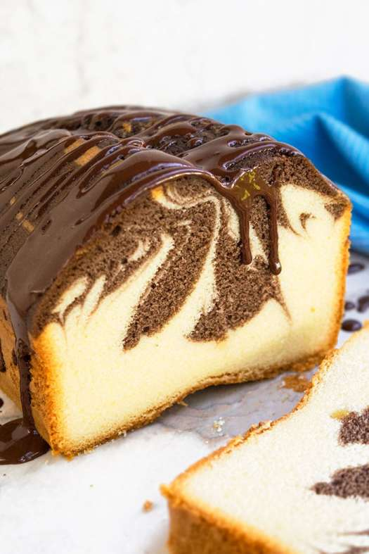 Marble Cake Recipe {From Scratch} - CakeWhiz