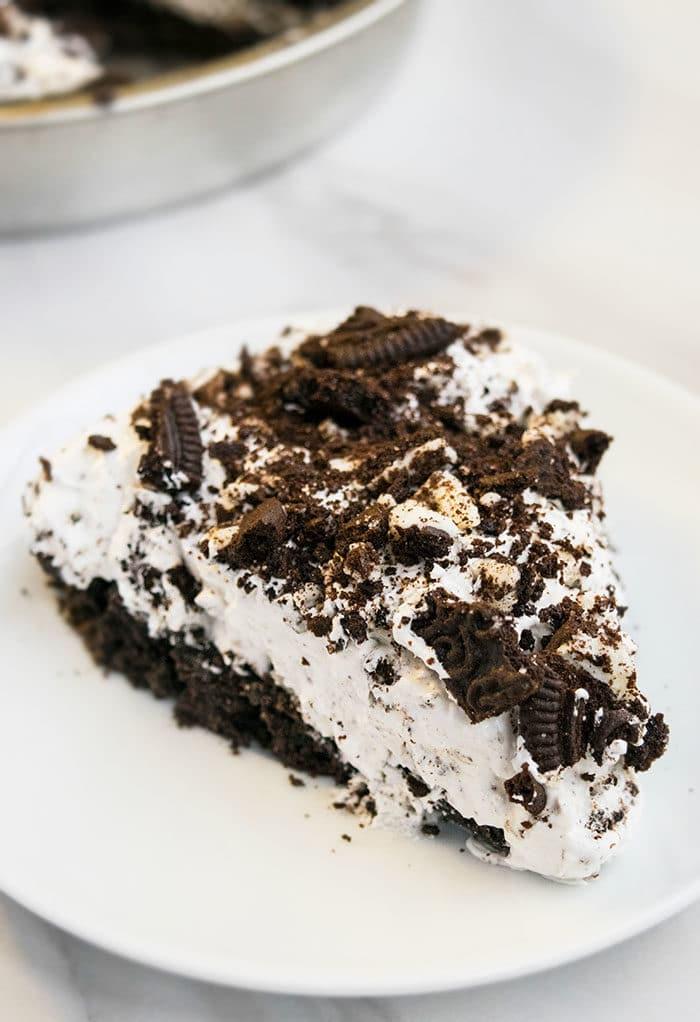 Easy No Bake Oreo Pie Recipe