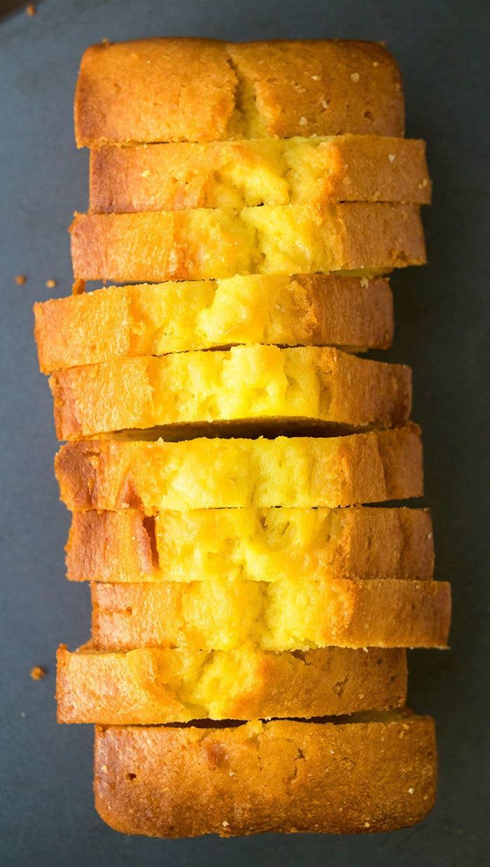 Easy Lemon Pound Cake with Cake Mix
