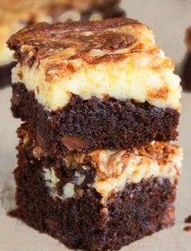 Easy Cheesecake Brownies Recipe